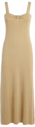 Roche Ryan Ribbed Cashmere Dress