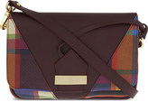 Vivienne Westwood Amberley tartan leather cross-body bag