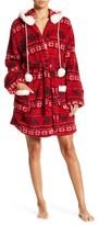 PJ Salvage Plush Cozy Hooded Robe