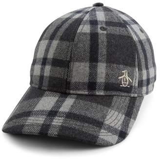 Original Penguin Check Baseball Cap