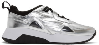 HUGO BOSS Silver Atom Sneakers