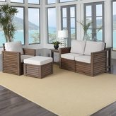 Home Styles Barnside Love Seat, Chair, Ottoman, and End Table