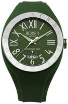 Boxer Milano Men's BOX 40 Roman Numerals Luminous Hunter Date Watch