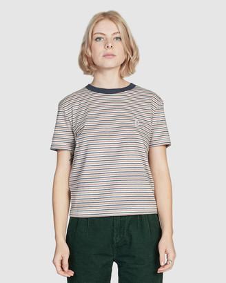 Quiksilver Womens Cropped T Shirt
