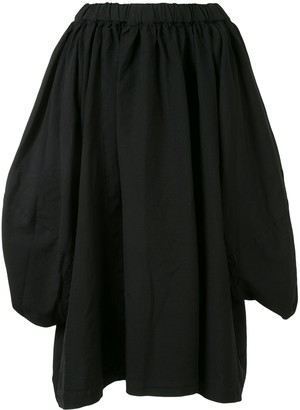 Comme des Garçons Comme des Garçons Asymmetric Flared Skirt
