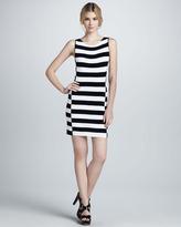 Theory Dasher Striped Sleeveless Dress