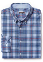 J.Mclaughlin Carnegie Classic Fit Flannel Shirt in Plaid
