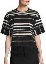 3.1 Phillip Lim Striped Ponte Tee