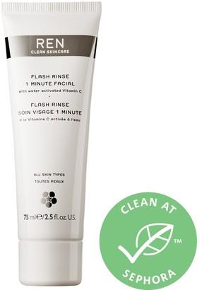 Ren Skincare Flash Rinse 1 Minute Facial