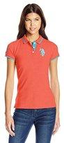 U.S. Polo Assn. Juniors' Solid Pique Polo Shirt