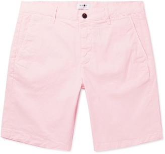 NN07 Crown Slim-Fit Stretch-Cotton Twill Shorts