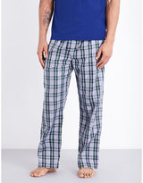 Derek Rose Barker Cotton Pyjama Bottoms