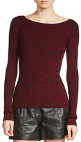 Maje Mythe Marled-Knit Sweater