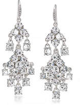 Carolee Crystal Drop Chandelier Earrings