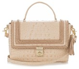 Brahmin Danielle Leather Satchel - Beige