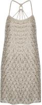 Topshop **LIMITED EDITION Hexagon Bead Dress