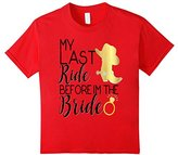 Bride Shirt Last Ride Cowgirl Boot Wedding Bachelorette Hen