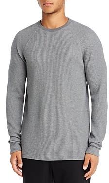 Theory River Waffle Knit Organic Cotton Sweater