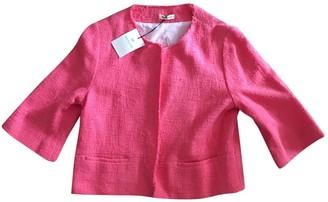 Masscob Pink Cotton Jacket for Women