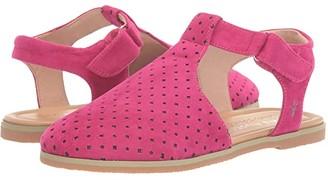 Emu Cara (Toddler/Little Kid/Big Kid) (Fuchsia) Girl's Shoes