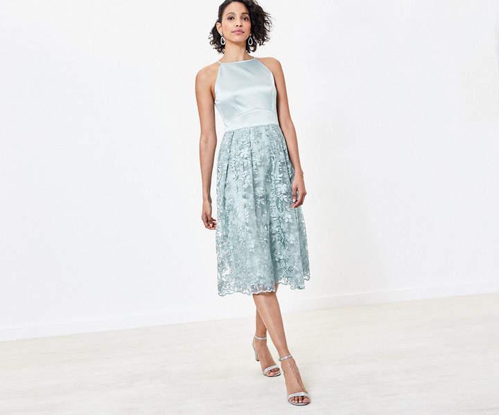 Oasis Satin Bridesmaid Dress