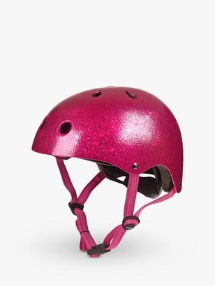 Micro Deluxe Scooter Helmet, Glitter Pink, Medium