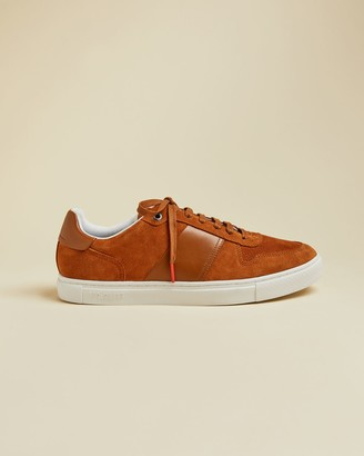 Ted Baker Branded Suede Trainers