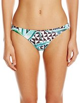 Mara Hoffman Women's Aloe Reversible Low Rise Bikini Bottom