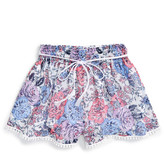 Ella Moss Izzy Print Chiffon Shorts (Big Girls)