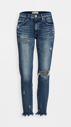 Moussy MV Ridgewood Skinny Blue Jeans