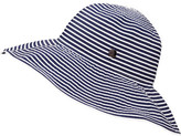Gregory Ladner Stripe Ribbon Floppy Hat