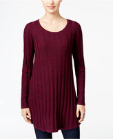 Style&Co. Style & Co. Ribbed Sweater Tunic, Only at Macy's