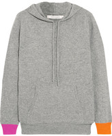Chinti and Parker Hooded Wool And Cashmere-blend Sweater - Gray