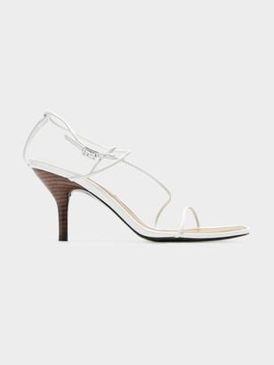Jaggar Naked Sandal in White
