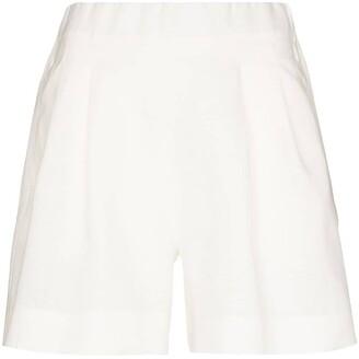 ASCENO Zurich linen shorts
