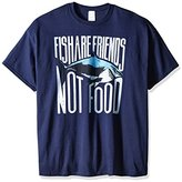 Disney Men's Fish are Friends Not Food T-Shirt