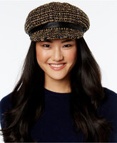 Nine West Speckled Bouclé Newsboy Cap