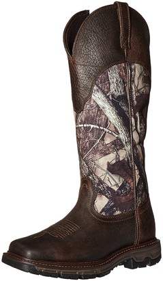 Ariat Men's Conquest Rubber Buckaroo Insulated Hunting Boot Real Tree Extra 8 D US
