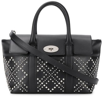 Mulberry Bayswater small studded tote bag