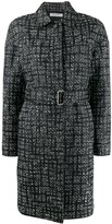 Philosophy di Lorenzo Serafini check pattern single breasted coat