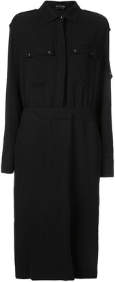 Tom Ford Military Shirt Dress
