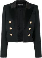 Balmain cropped blazer