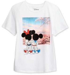 Disney Juniors' Mickey & Minnie Graphic T-Shirt