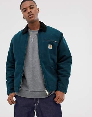Carhartt Wip WIP Organic OG Detriot jacket in duck blue
