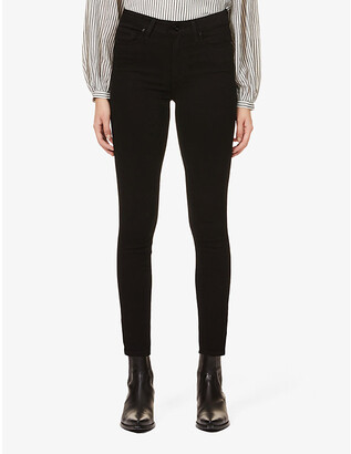 Paige Muse slim-fit high-rise stretch-denim jeans
