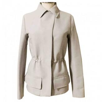 Louis Vuitton Grey Cotton Coat for Women