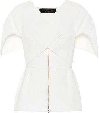 Roland Mouret Akeley cotton-blend jacket