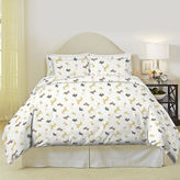 Asstd National Brand Pointehaven Winter Dogs Flannel Duvet Cover Set