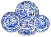 Spode Blue Italian 5-Piece Place Setting