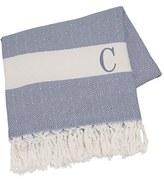 Cathy's Concepts Monogram Turkish Cotton Throw